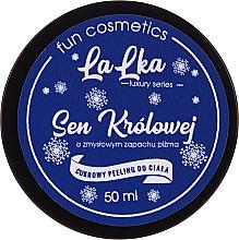 """Parfumuri și produse cosmetice Scrub de zahăr pentru corp """"The Queen's Dream"""" - Lalka Sugar Body Peeling"""