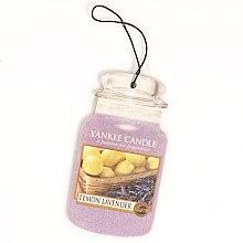 """Parfumuri și produse cosmetice Aromatizator """"Lămâie și lavandă"""" - Yankee Candle Fluffy Lemon Lavender 2D Jar Classic"""