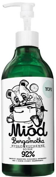 """Săpun lichid pentru bucătărie """"Miere și bergamot"""" - Yope Honey & Bergamot Hand Soap — Imagine N1"""