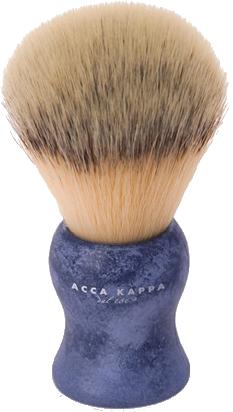 Pămătuf de ras - Acca Kappa Shaving Brush Natural Style Blue — Imagine N1