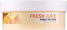 """Cremă cu ulei de amarant """"Portocală și Mango"""" - Fresh Juice Orange & Mango — Imagine N6"""