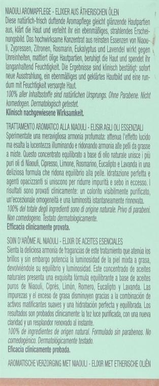 Elixir aromatic cu ulei esențial de Niaouli pentru față - Darphin Niaouli Aromatic Care — Imagine N4