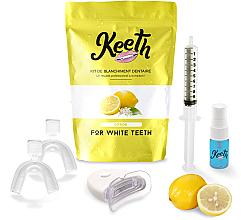 "Parfumuri și produse cosmetice Set pentru albirea dinților ""Lămâie"" - Keeth Lemon Teeth Whitening Kit"