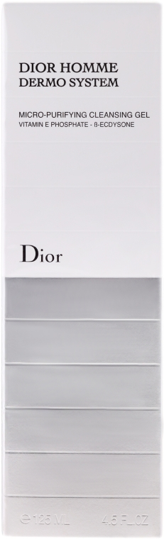 Gel de curățare - Dior Homme Dermo System Gel 125ml — Imagine N2