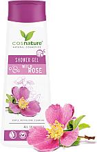 """Parfumuri și produse cosmetice Gel de duș """"Măceșe"""" - Cosnature Shower Gel Wild Rose"""