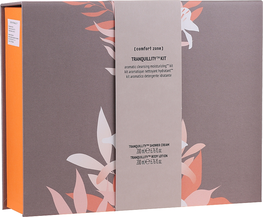 Set - Comfort Zone Tranquillity Kit (b/lot/200ml + sh/cr/200ml) — Imagine N1