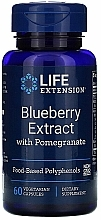 "Parfumuri și produse cosmetice Supliment alimentar ""Extract de afine cu rodie"" - Life Extension Blueberry Extract With Pomegranate"