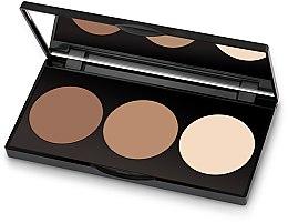 Parfumuri și produse cosmetice Pudră compactă - Golden Rose Contour Powder Kit