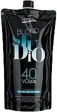 Parfumuri și produse cosmetice Oxidant Nutri-revelator 12% - L'Oreal Professionnel Blond Studio Creamy Nutri-Developer Vol.40