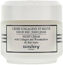 Parfumuri și produse cosmetice Cremă de noapte cu efect de fermitate - Sisley Creme Collagene Et Mauve Botanical Night Cream