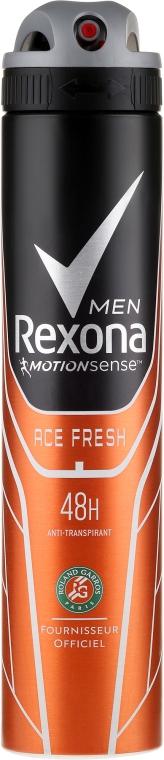 "Antiperspirant-spray ""Ace Fresh"" - Rexona Deodorant Deospray Men Ace Fresh"