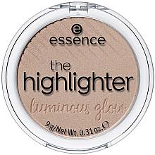 Parfumuri și produse cosmetice Iluminator pentru față - Essence The Highlighter Lumirous Glow