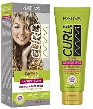 Parfumuri și produse cosmetice Cremă-activator pentru bucle - Kativa Keep Curl Definer Leave In Cream