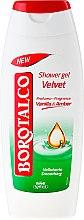 Parfumuri și produse cosmetice Gel de duș - Borotalco Velvet Shower Gel