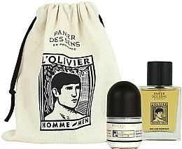 Parfumuri și produse cosmetice Panier des Sens L'Olivier - Set (edp/50ml + deo/50ml)