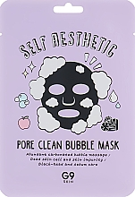 Parfumuri și produse cosmetice Bubble Mask de țesut pentru față - G9Skin Self Aesthetic Poreclean Bubble Mask