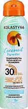 Parfumuri și produse cosmetice Spray uscat transparent de protecție pentru față și corp - Kolastyna Coconut Paradise SPF30