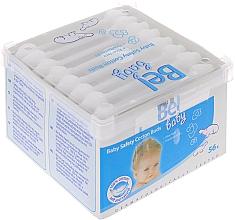 Parfumuri și produse cosmetice Bețișoare din bumbac, 56 buc. - Bel Baby Safety Cotton Buds
