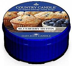 Parfumuri și produse cosmetice Lumânare de ceai - Country Candle Blueberry Muffin Daylight