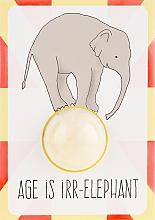 Parfumuri și produse cosmetice Bombă de baie - Bomb Cosmetics Blaster Card Age is Irr-Elephant