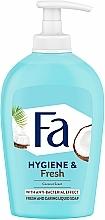 """Parfumuri și produse cosmetice Săpun lichid """"Apă de cocos"""" - Fa Coconut Water Soap"""