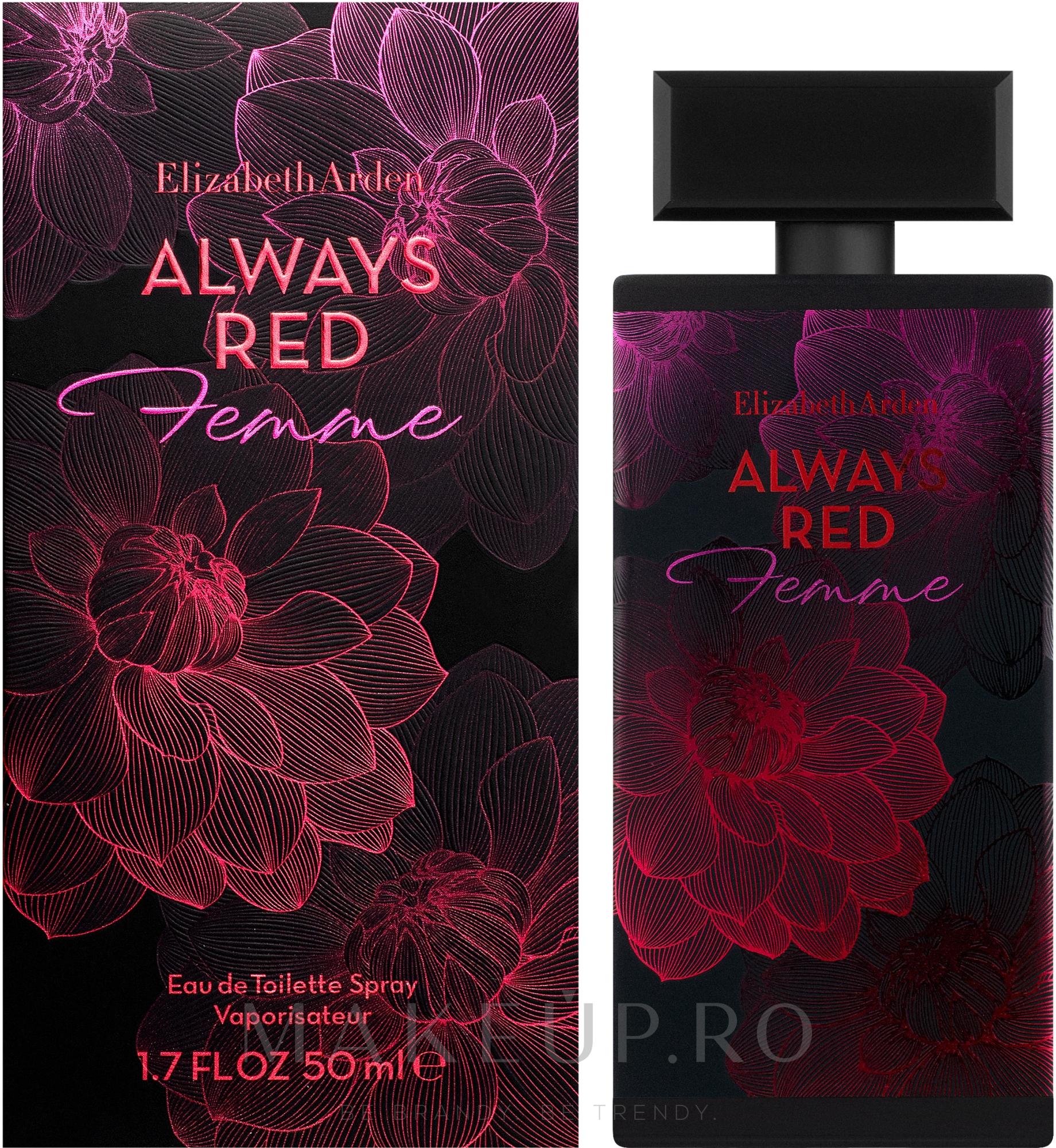 Elizabeth Arden Always Red Femme - Apă de toaletă — Imagine 50 ml