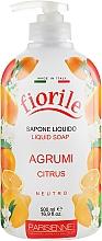 """Parfumuri și produse cosmetice Săpun lichid """"Citrice"""" - Parisienne Italia Fiorile Citrus Liquid Soap"""