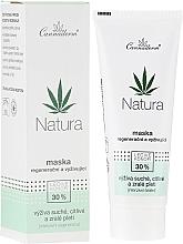 Parfumuri și produse cosmetice Mască regenerantă de față - Cannaderm Natura