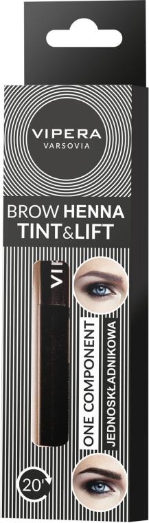 Henna pentru sprâncene - Vipera Tint&Lift Brow Henna — Imagine N1
