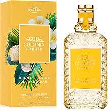 Parfumuri și produse cosmetice Maurer & Wirtz 4711 Acqua Colonia Intense Sunny Seaside Of Zanzibar - Apă de colonie