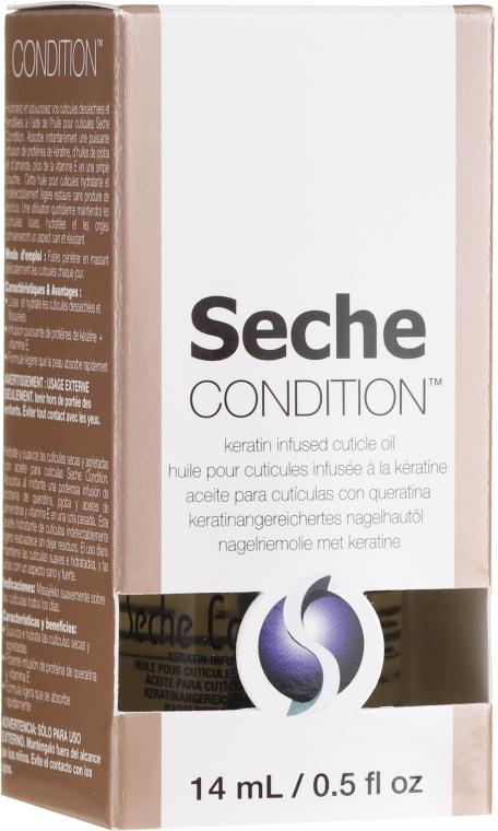 Ulei pentru cuticule - Seche Condition Keratin Infused Cuticle Oil — Imagine N1
