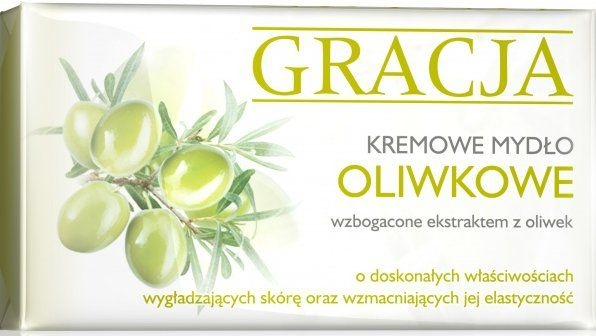 Săpun de toaletă cu extract de măsline - Gracja Olive Cream Soap
