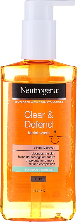 Gel de spălare - Neutrogena Visibly Clear Spot Proofing Daily Wash — Imagine N1