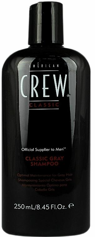Șampon pentru păr cărunt - American Crew Classic Gray Shampoo — Imagine N1