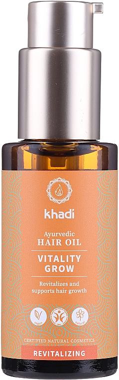 Ulei revitalizant pentru păr - Khadi Ayurvedic Vitality Grow Hair Oil