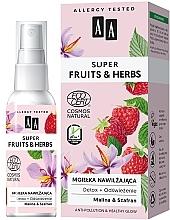 Parfumuri și produse cosmetice Spray hidratant pentru față - AA Super Fruits & Herbs