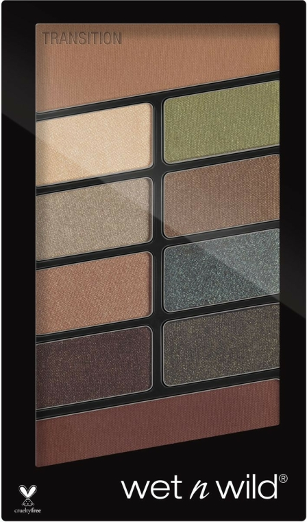 Paletă de machiaj - Wet N Wild Color Icon 10 Pan Palette — Imagine N1