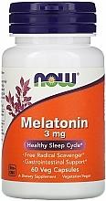 Parfumuri și produse cosmetice Melatonină împotriva insomniei, 3 mg - Now Foods Melatonin