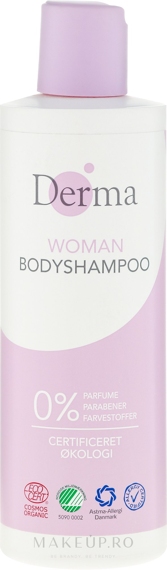 Gel de duș - Derma Eco Woman Body Shampoo — Imagine 250 ml
