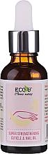 Parfumuri și produse cosmetice Ulei pentru cuticule și unghii - Eco U Super Strengthening Cuticle & Nail Oil