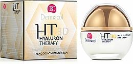 Parfumuri și produse cosmetice Cremă de față, cu acid hialuronic pur - Dermacol Hyaluron Therapy 3D Wrinkle Day Filler Cream