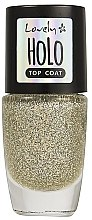 Parfumuri și produse cosmetice Gel de finisare pentru unghii - Lovely Holo Top Coat