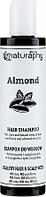 Parfumuri și produse cosmetice Șampon cu ulei de migdale, pentru păr vopsit - Bluxcosmetics Naturaphy Hair Shampoo