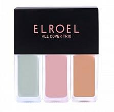Parfumuri și produse cosmetice Concealer - Elroel All Cover Trio
