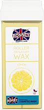 """Parfumuri și produse cosmetice Ceară depilatoare, cartuș """"Lemon"""" - Ronney Professional Wax Cartridge Lemon"""