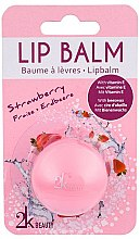 """Parfumuri și produse cosmetice Balsam de buze """"Căpșuni"""" - Cosmetic 2K Lip Balm"""