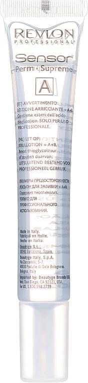 Soluție pentru păr vopsit și aranjare chimică - Revlon Professional Sensor Perm-Supreme — Imagine N8