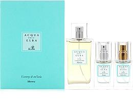 Parfumuri și produse cosmetice Acqua Dell Elba Altrove - Set (edp/100ml+edp/mini/15ml+edp/mini/15ml)