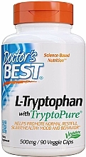 Parfumuri și produse cosmetice Aminoacid L-triptofan cu TryptoPure, 500 mg, capsule - Doctor's Best