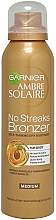 Parfumuri și produse cosmetice Autobronzant pentru corp - Garnier Ambre Solaire No Streaks Bronzer Medium Self Tan Body Mist